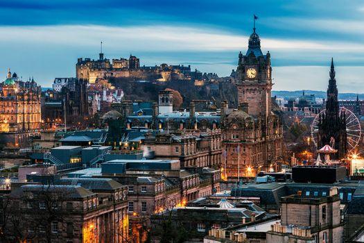 Заставки Edinburgh, Эдинбург, Шотландия