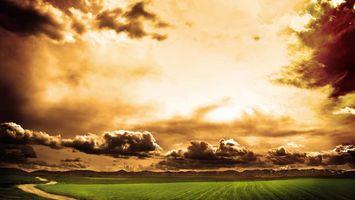 Фото бесплатно облака, Дорога, стреляет