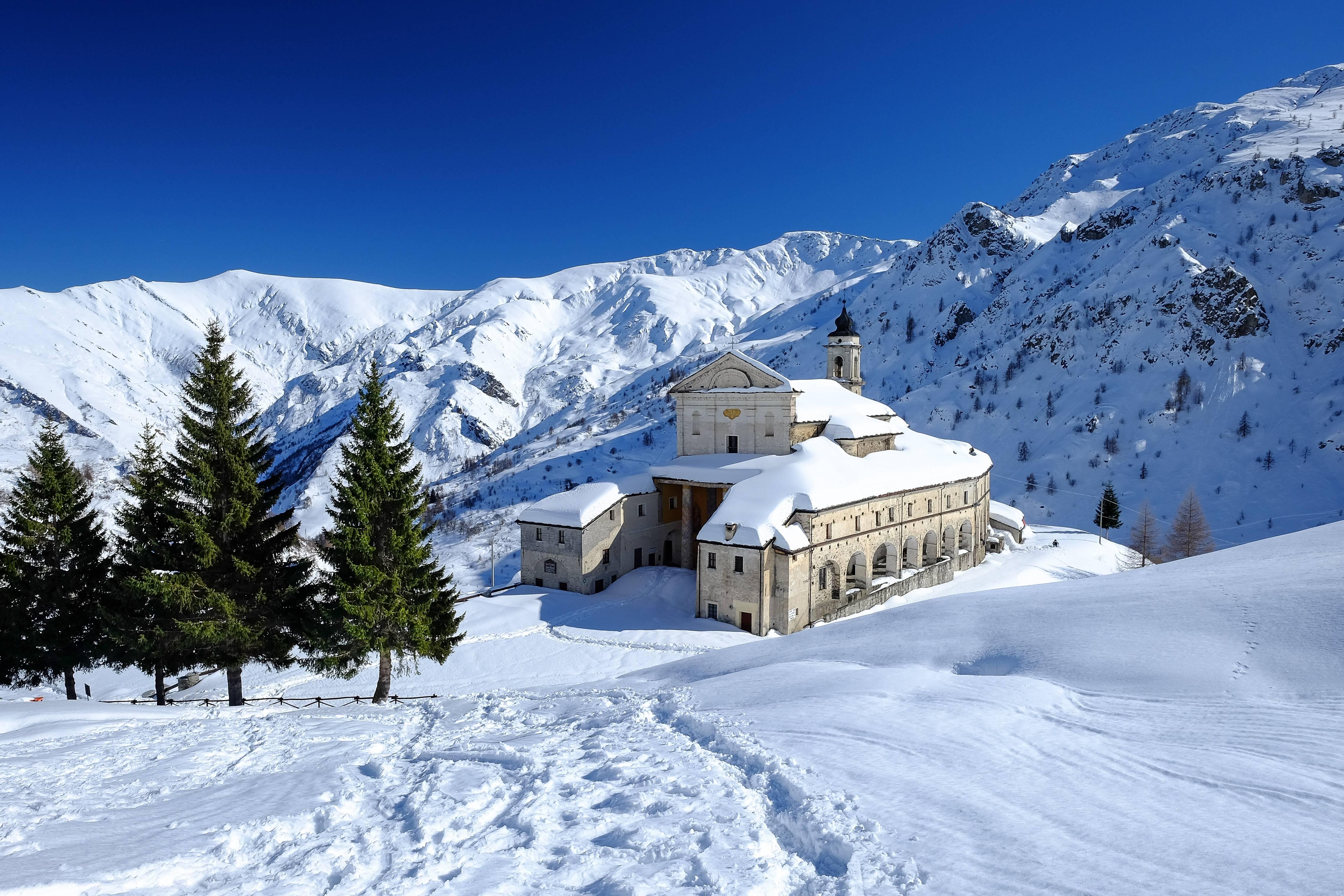 обои Castelmagno, Пьемонт, Италия, горы картинки фото