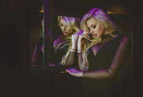 Фото бесплатно лицо, Montse Roura, блондинка