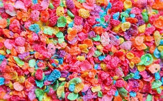 Фото бесплатно разноцветные, кукурузные, хлопья