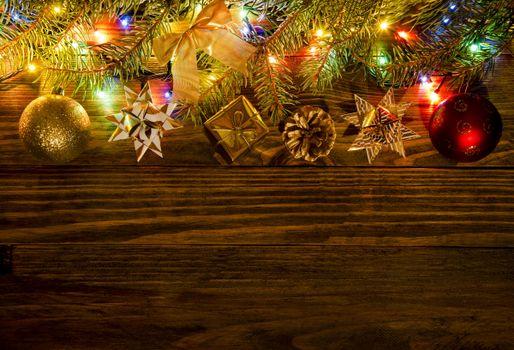 Фото бесплатно огни, гирлянды, Новый год