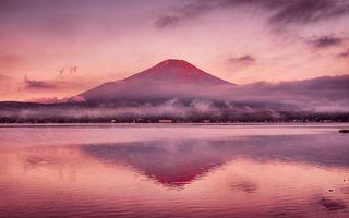 Бесплатные фото озеро, облака, берег, гора, небо