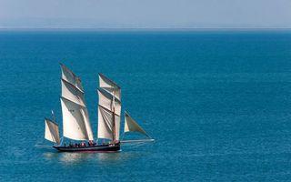 Бесплатные фото парусник,море