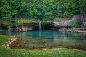 Бесплатные фото водопад,водоём,скалы,лес,парк,деревья,пейзаж