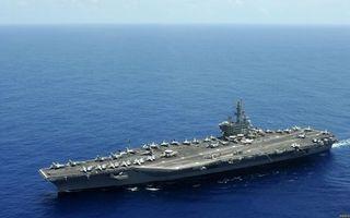 Заставки корабль,авианосец,палуба,самолеты,море
