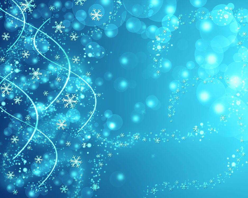Фон со снежинками · бесплатное фото
