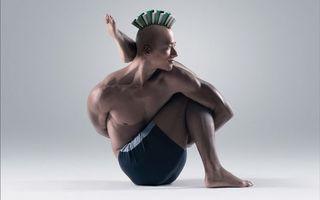 Бесплатные фото йога,поза,гибкость,мышцы,ирокез