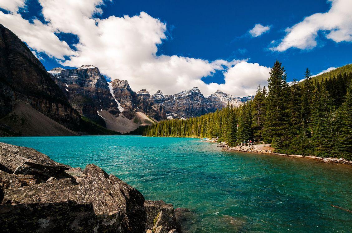 Фото бесплатно Национальный парк Банф, Alberta, Канада, Lake Louise, Banff Johnston Canyon, пейзаж, пейзажи
