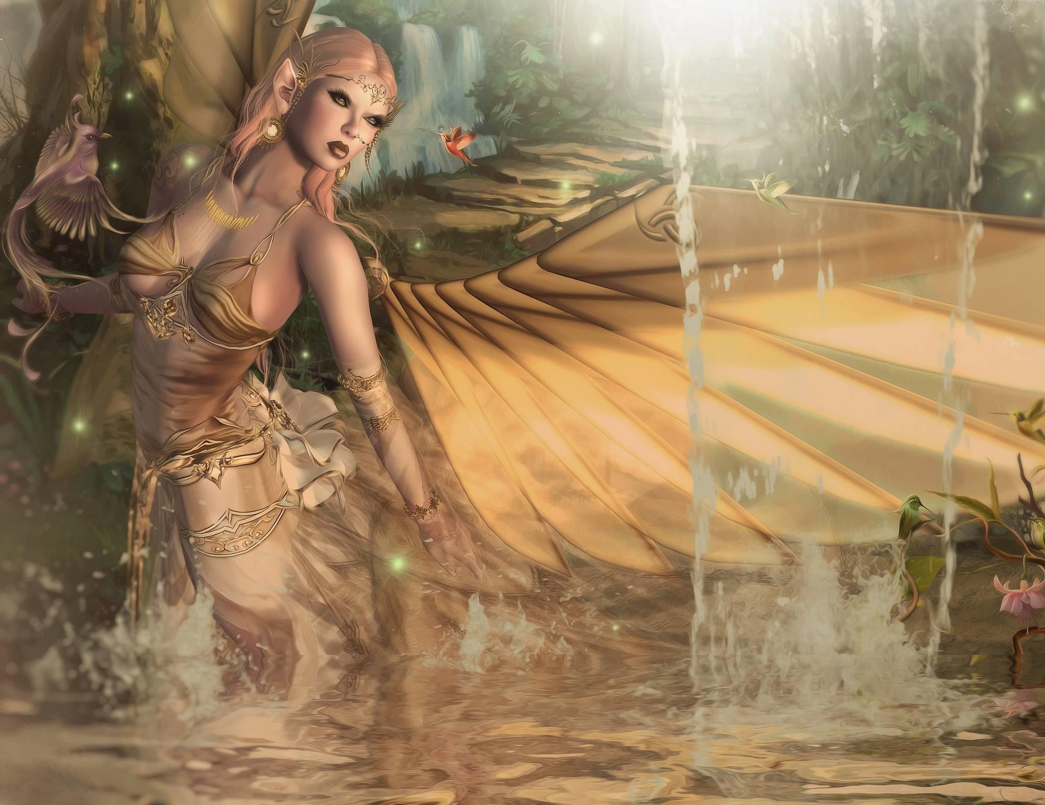 девушка, фантастическая девушка, ангел