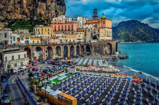 Photo free Amalfi Coast, sea, Italy