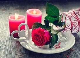 Фото бесплатно розы, с Днем святого Валентина, Валентина