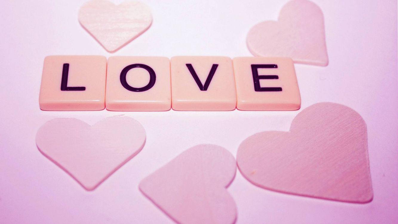 Фото бесплатно love, любовь, надпись - на рабочий стол