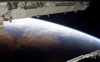 Фото бесплатно орбиту, МКС, Земля