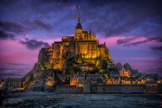 Photo free Mont Saint-Michel, Mont-Saint-Michel, France