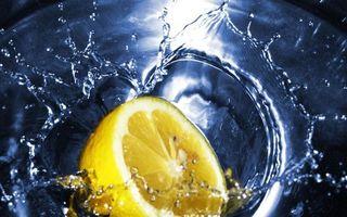 Бесплатные фото вода,лимон,всплеск,брызги,капли