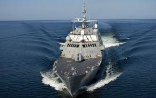 Фото бесплатно крейсер, морской флот