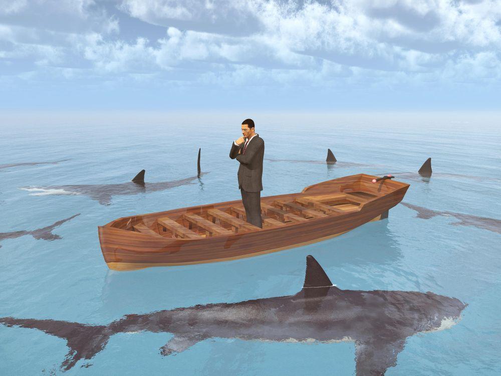 Фото бесплатно акула, хищник, оскал, опасность, art, рендеринг
