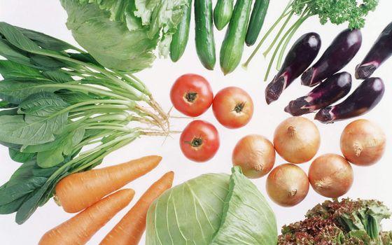 Фото бесплатно овощи, капуста, морковь