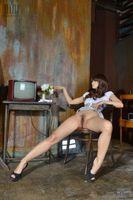 Фото бесплатно поза, обнаженная девушка, азиатка