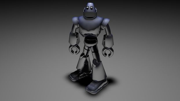 Photo free art, modeling, robot