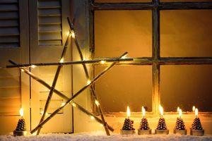 Фото бесплатно свечи, новогодние обои, рождество