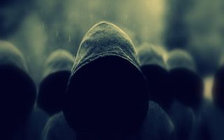 Photo free hidden faces, people, hoods