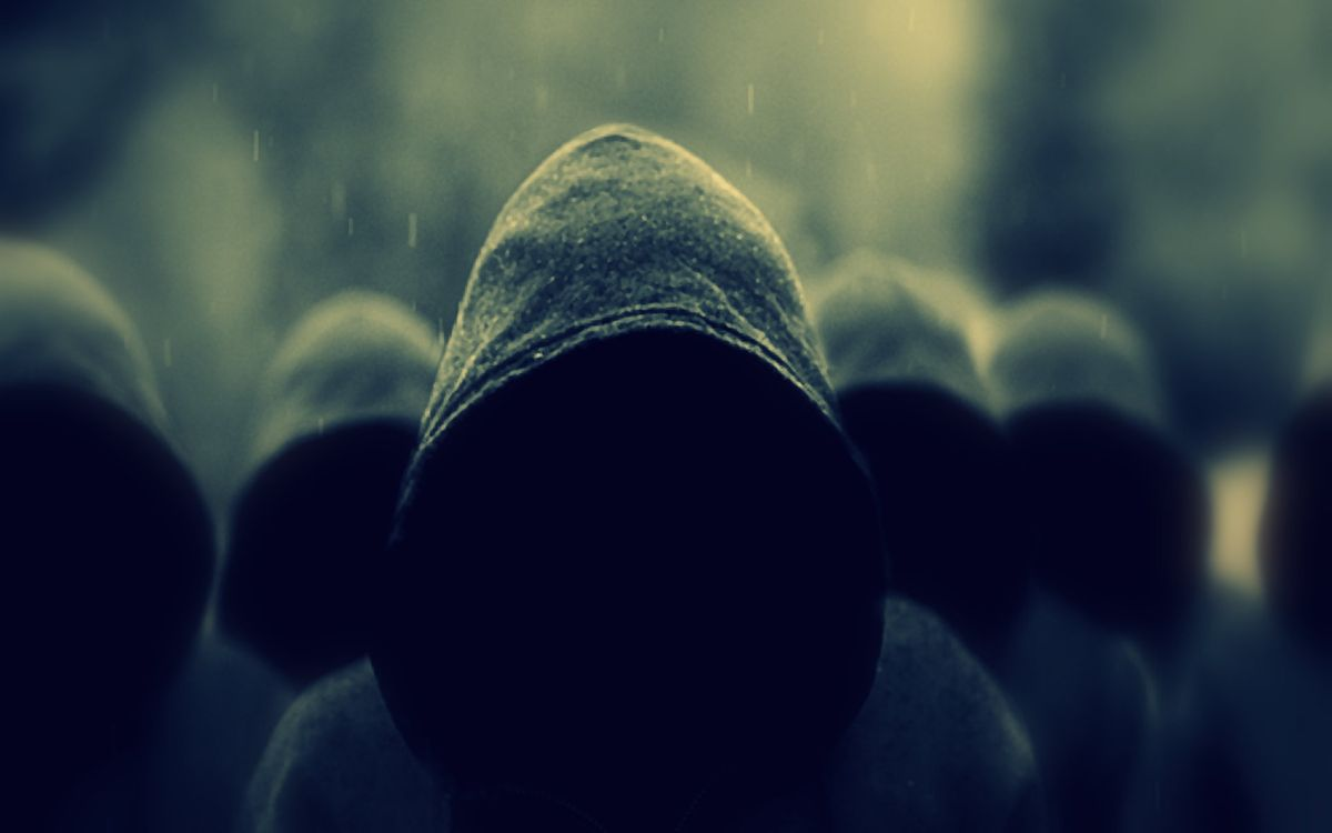 Фото бесплатно скрытые лица, люди, капюшоны - на рабочий стол
