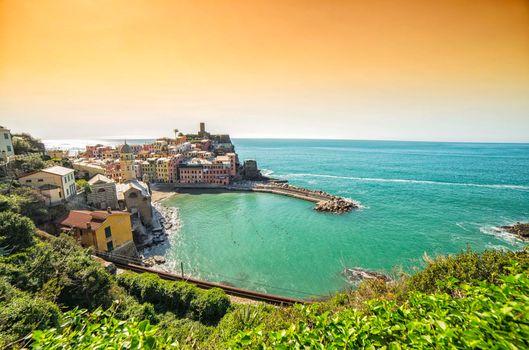 Фото бесплатно Vernazza, Cinque Terre, Italy