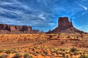 Фото бесплатно Monument Valley, Utah, горы