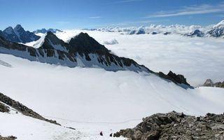 Бесплатные фото горы, вершины, снег, камни, облака, небо