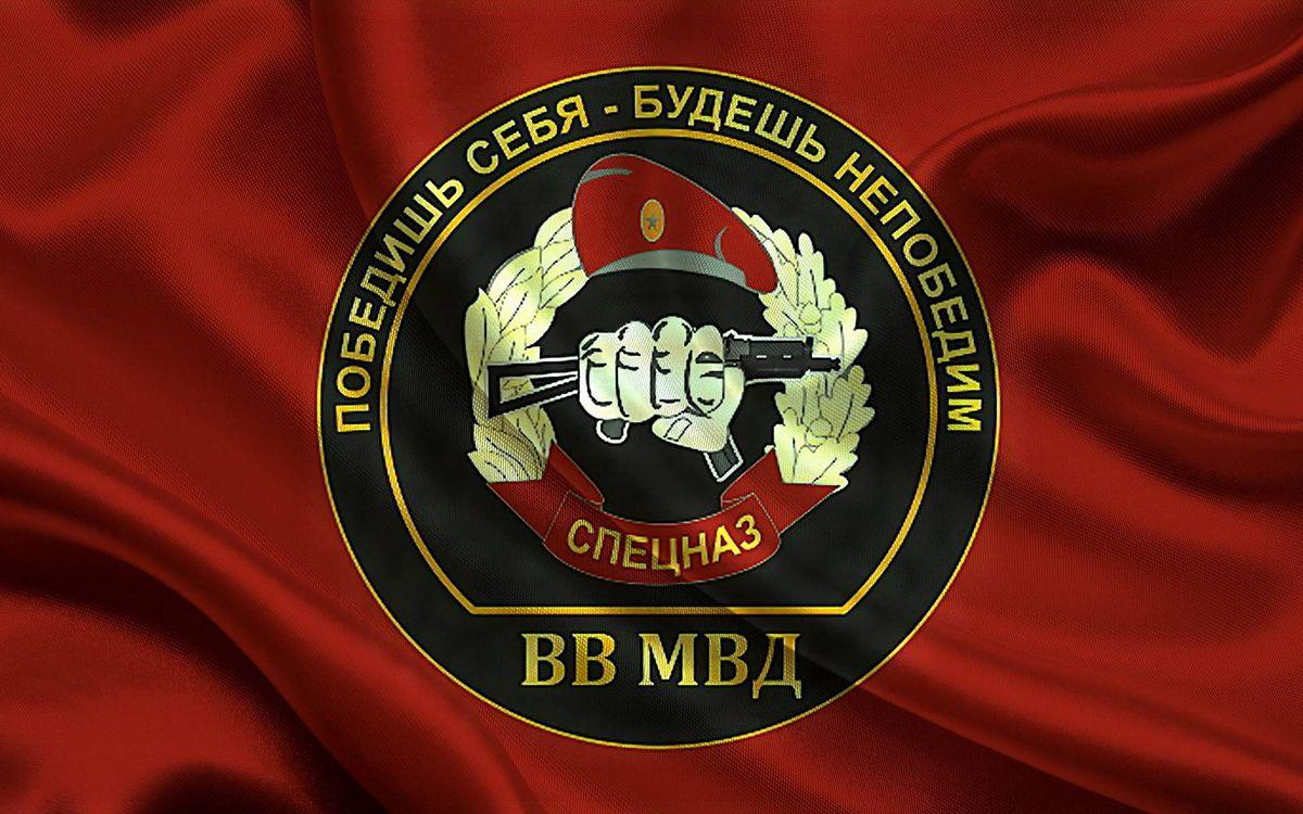 Фото бесплатно шеврон вв мвд, спецназ, герб - на рабочий стол