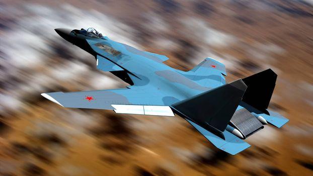 Фото бесплатно СУ-47, Беркут, истребитель, обратное крыло, Россия