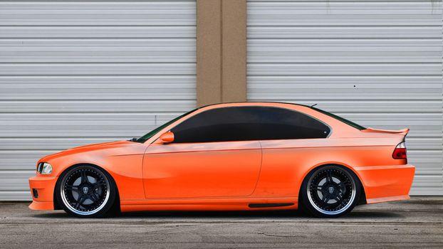 Photo free bmw, orange, toning