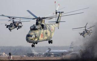 Фото бесплатно аэродром, самолеты, вертолеты