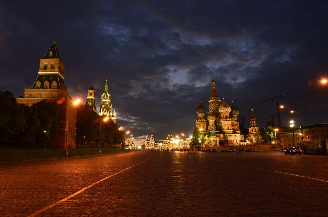 Фото бесплатно Россия, Москва, Столица, Город, Храм Василия Блаженного, город