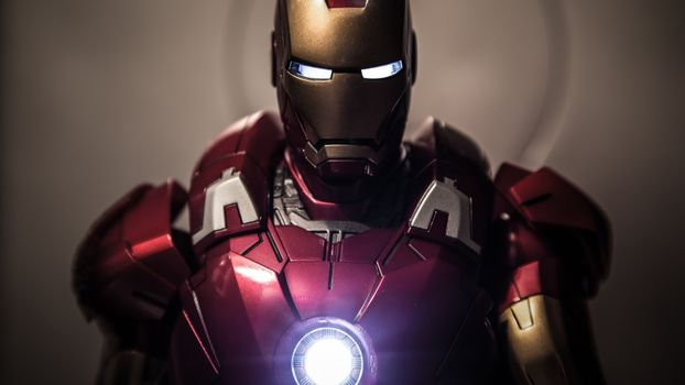 View photos of the iron man suit