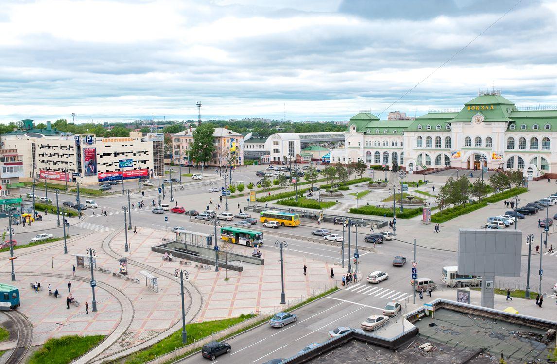 Фото бесплатно Россия, Хабаровск, вокзал - на рабочий стол