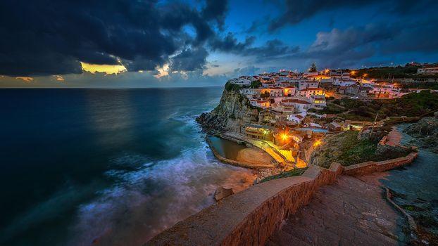 Picture azenhas do mar, portugal on the desktop
