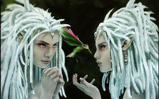 Фото бесплатно девушки, эльфы, волосы