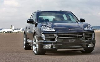 Photo free porsche, cayenne, black