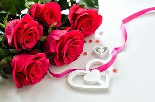 Фото бесплатно День Святого Валентина, Романтический день, роза