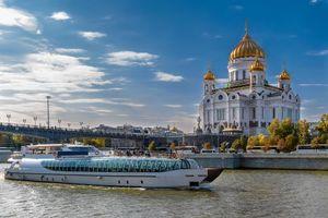 Бесплатные фото Храм Христа Спасителя,Москва,Россия