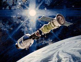 Фото бесплатно Союз, планета, Солнце