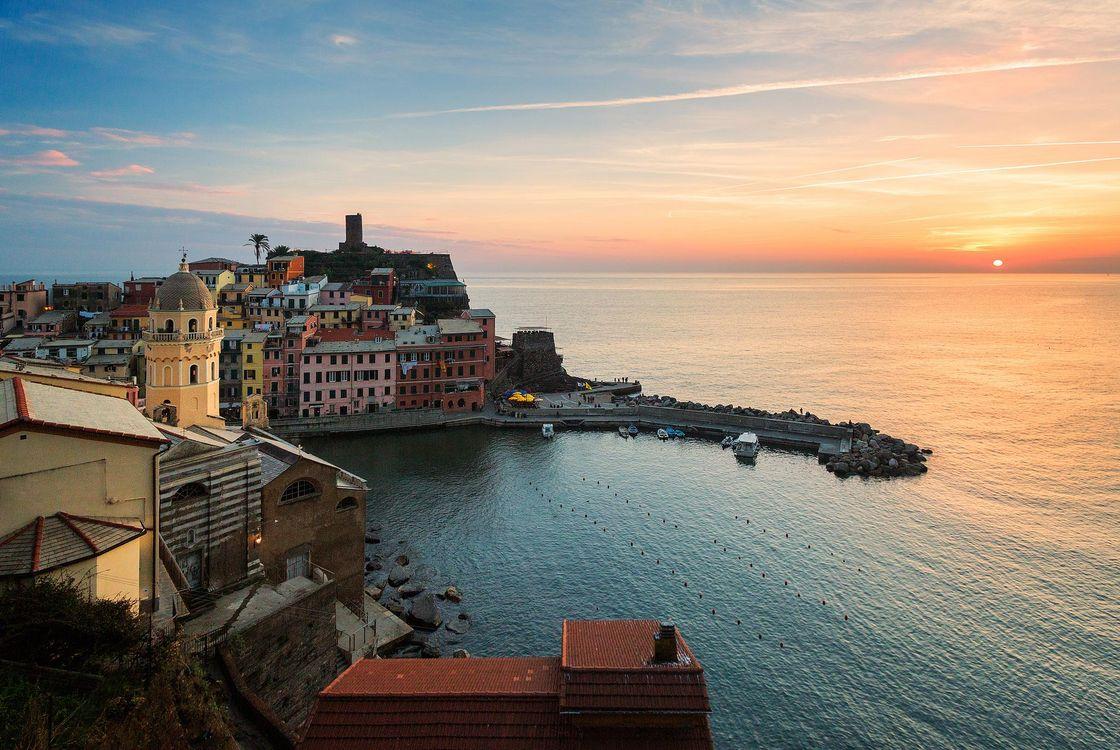 Фото бесплатно Vernazza, Cinque Terre, Вернацца - на рабочий стол