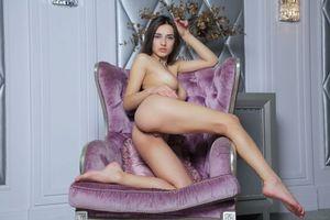 Обои Gloria-Sol, красотка, девушка, модель, голая, голая девушка, обнаженная девушка, позы, поза, сексуальная девушка, эротика