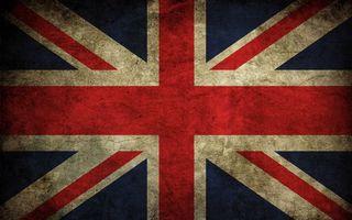 Бесплатные фото флаг,Великобритания,кресты,фон синий