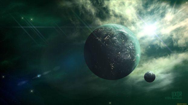Заставки звезды, планеты, жизнь