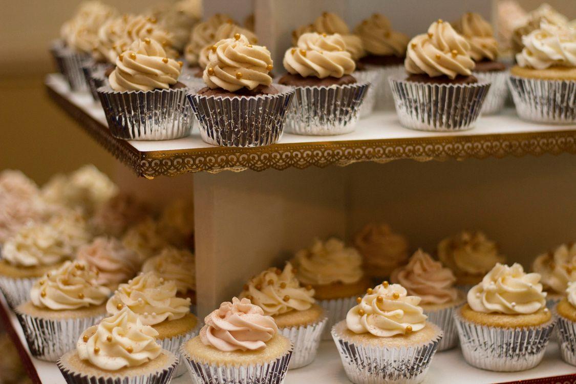 Фото бесплатно еда, кексы, украшение, выпечка, сладкое, еда