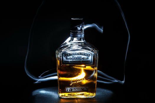 Бесплатные фото Whiskey,Jack Daniels Bottle,напиток